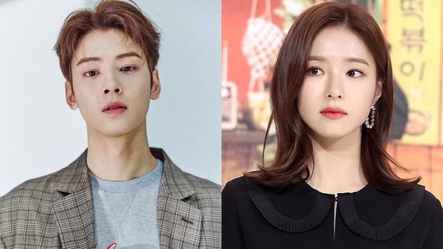 Cha Eun Woo dan Shin Se Kyung