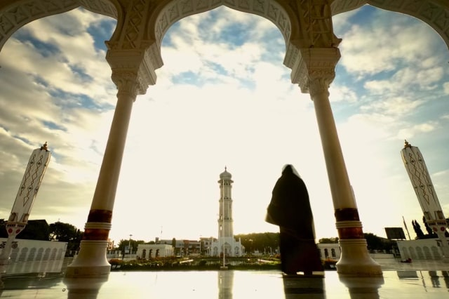 Foto: Menikmati Indahnya Masjid Raya Baiturrahman di Banda Aceh (1285852)