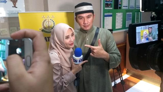 Mandala Shoji, istrinya di Kejaksaan Negeri Jakarta Pusat