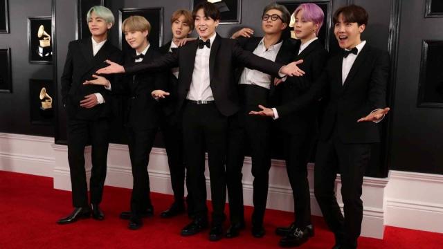 BTS, Grammy Awards