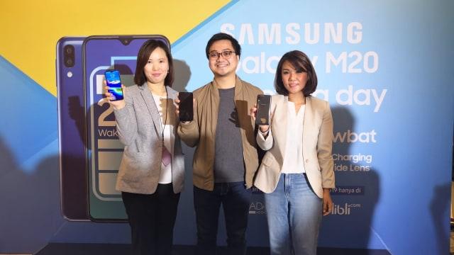 Peluncuran Samsung Galaxy M20 di Indonesia