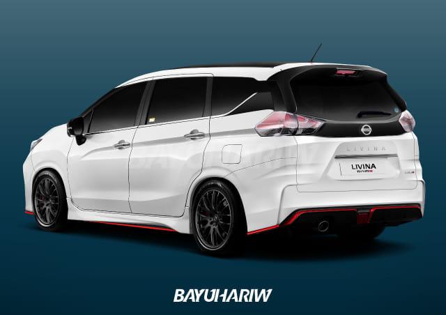 Sketsa Mpv Nissan Berbasis Xpander Dengan Sentuhan Nismo Kumparan Com