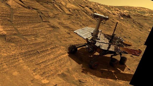Opportunity si robot penjelajah Mars