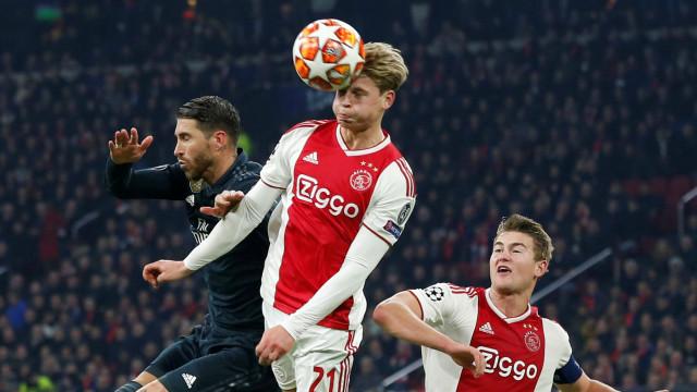 Ajax, Real Madrid