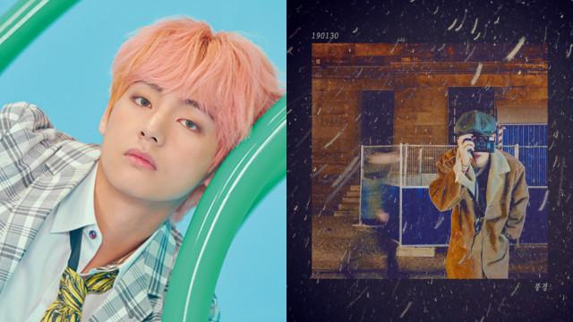 V BTS Rilis Lagu Cover 'Traffic Light' Milik Paul Kim (38977)