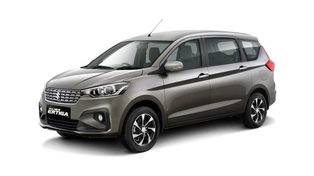 Model improvemet all new Suzuki Ertiga