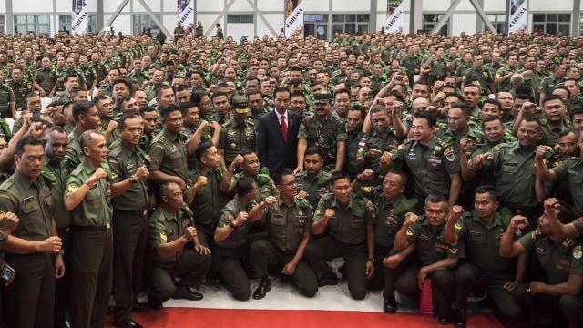 LIPSUS, Jenderal Pilpres, Jokowi, Panglima TNI dan Babinsa