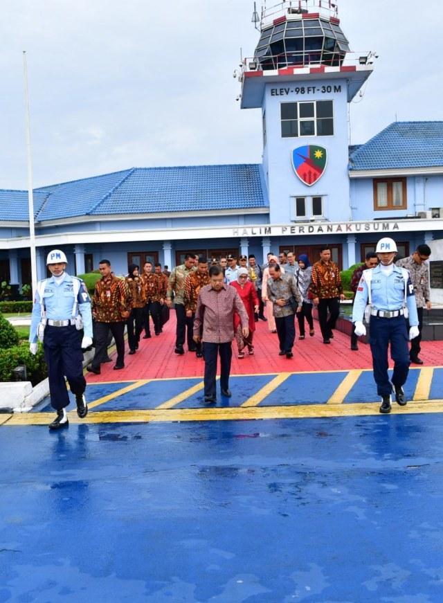 JK Bertolak ke Bengkulu, Tutup Tanwir Muhammadiyah (76429)