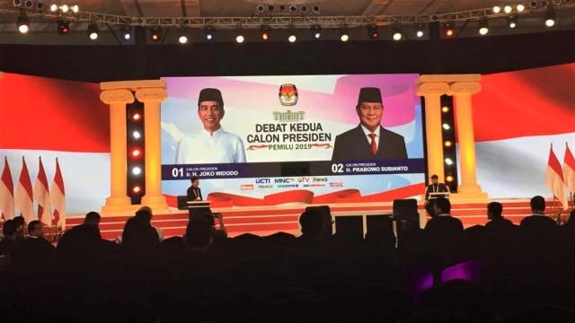 Gladi Bersih, Debat Pilpres Kedua, Hotel Sultan