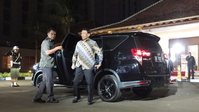 Menko Polhukam Wiranto, Debat Capres 2019