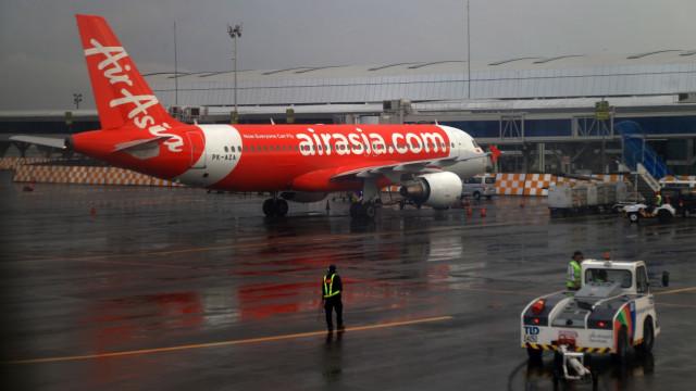 Ilustrasi pesawat Air Asia
