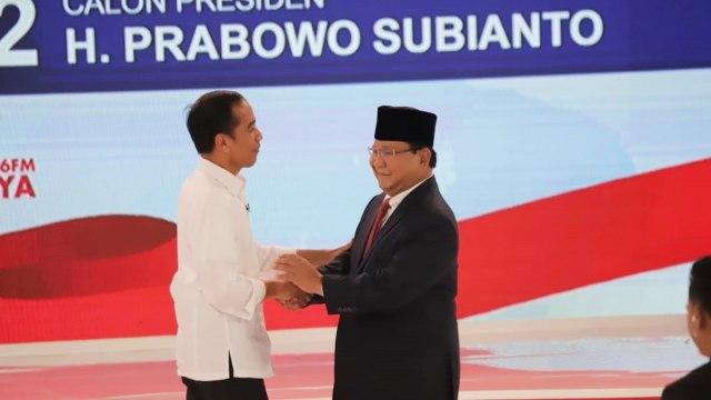 Debat kedua Capres 2019 di Hotel Sultan Jakarta, Jokowi, Prabowo