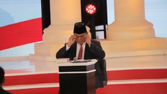 Debat kedua Capres 2019 di Hotel Sultan Jakarta, Prabowo Subianto