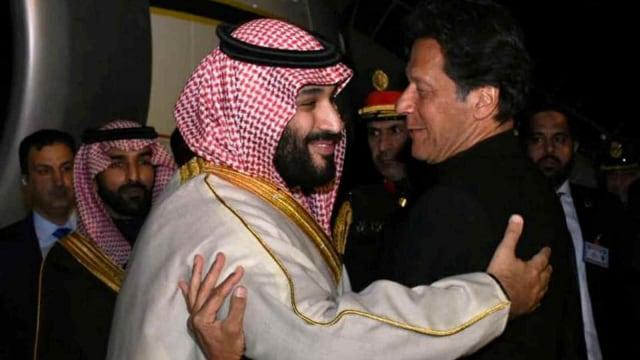 Mohammed Bin Salman, Imran Khan, Perdana Menteri Pakistan