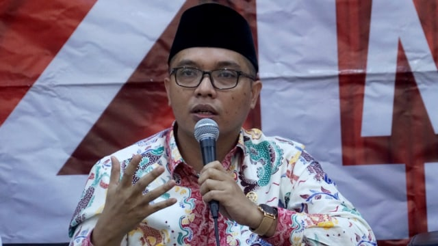 Politisi PPP, Achmad Baidowi, diskusi 'Potensi Golput di Pemilu 2019'