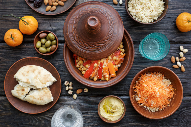 Couscous khas Maroko