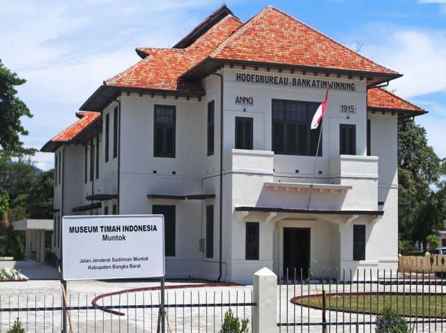 Menelisik Sejarah Peleburan Timah di Museum Muntok (218944)