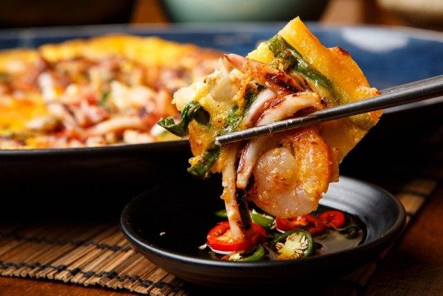 Pajeon (pancake daun bawang Korea)