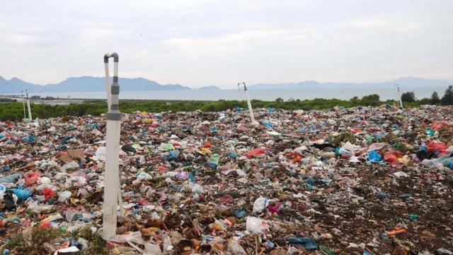 Foto: Sampah Banda Aceh di Gampong Jawa  (282271)