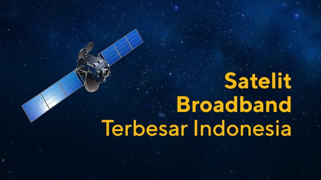 Nusantara Satu, Satelit Broadband yang Merajut Indonesia - kumparan com