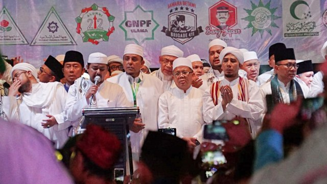 Munajat 212, Haji Lulung, Sohibul Iman, Zulkifli Hasan
