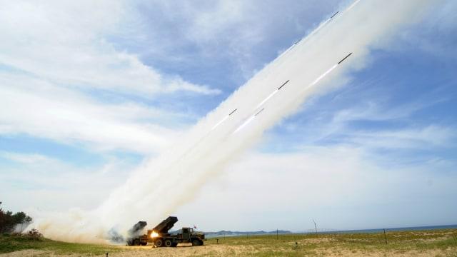 Ilustrasi peluncuran rudal