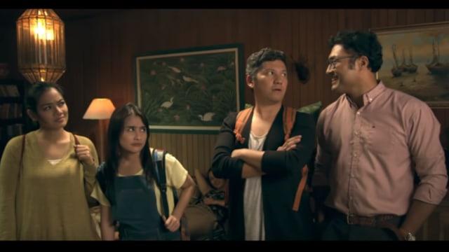 Gading Marten di Film 'Hangout'