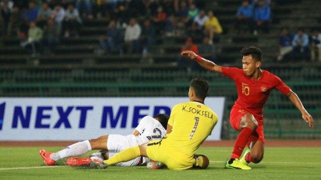 Timnas U-22 Indonesia, Timnas U-22 Kamboja, Piala AFF U-22