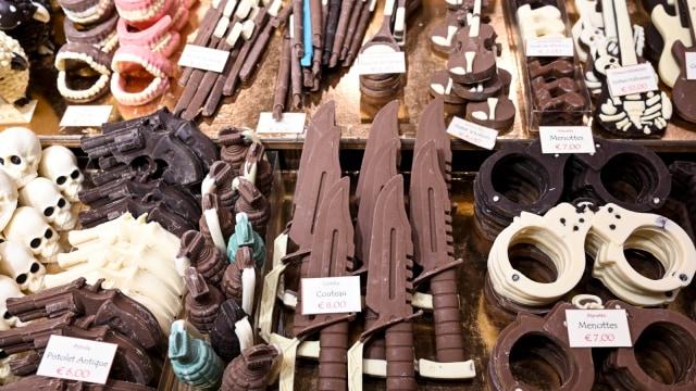 Pameran Chocolate Fair di Brussels