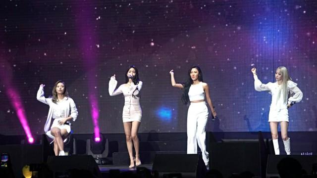 Mamamoo Sukses Gelar Fan Meeting 'Hello Moomoo' di Jakarta (112114)