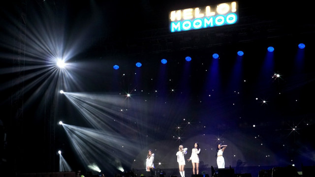 Mamamoo Sukses Gelar Fan Meeting 'Hello Moomoo' di Jakarta (112115)