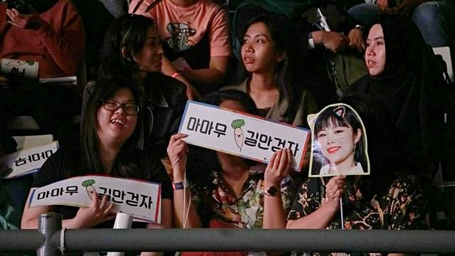 Mamamoo Sukses Gelar Fan Meeting 'Hello Moomoo' di Jakarta (112116)