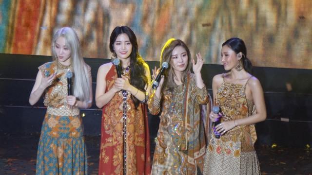 Mamamoo Sukses Gelar Fan Meeting 'Hello Moomoo' di Jakarta (112113)