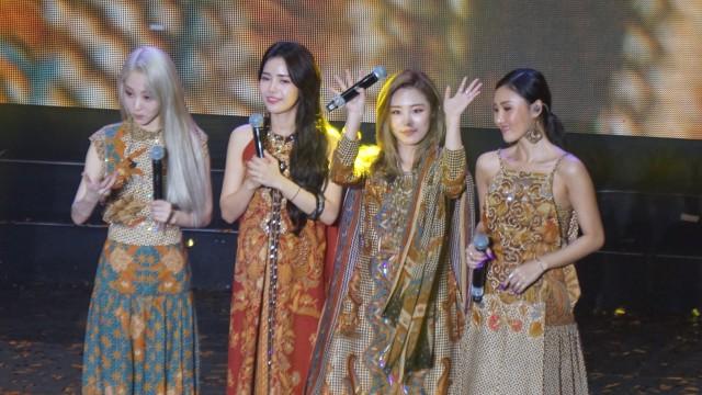 Mamamoo Sukses Gelar Fan Meeting 'Hello Moomoo' di Jakarta (112117)