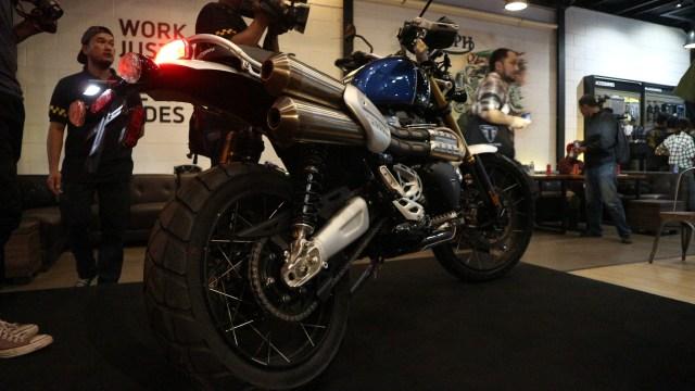 Otomotif, triumph, sepeda motor, motor baru