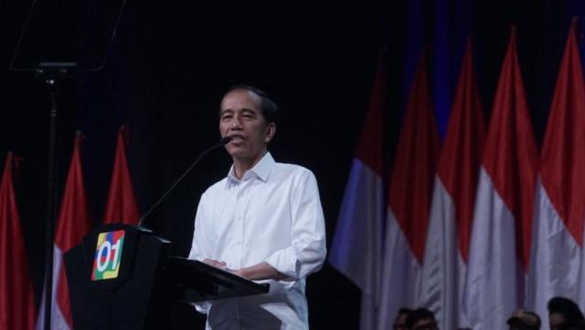 Presiden Jokowi  pidato kebangsaan , Sentul