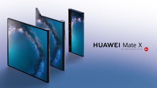 Huawei Mate X, smartphone lipat Huawei