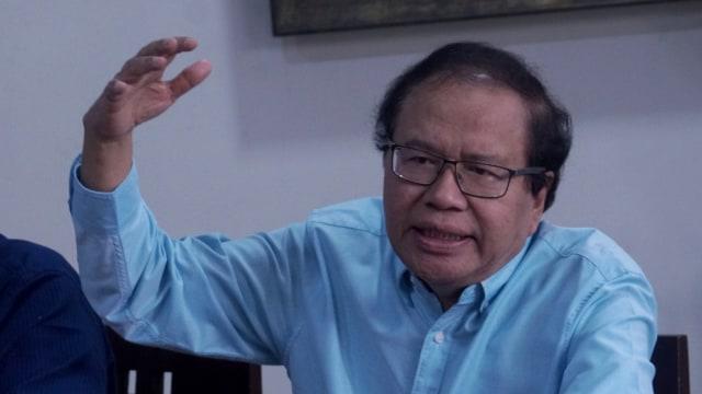 Rizal Ramli, diskusi bertajuk Indonesia Perlu Pemimpin Optimis yang Bawa Perubahan