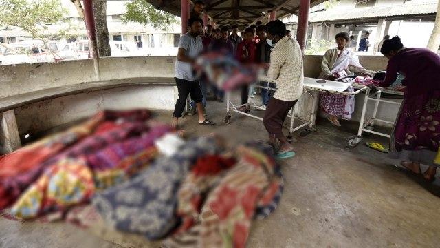 Masyarakat India yang tewas akibat miras oplosan