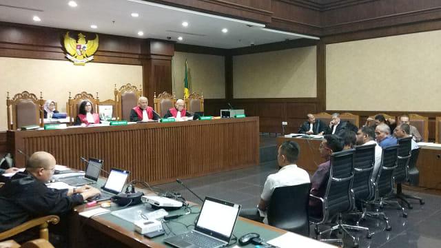 Sidang kasus dugaan suap, Gubernur Aceh Nonaktif, Irwandi Yusuf, Pengadilan Tipikor Jakarta