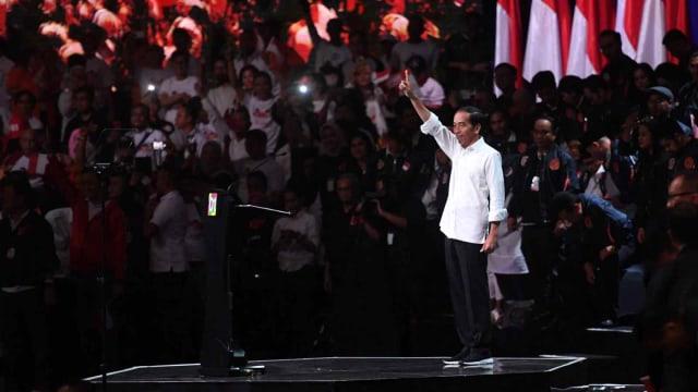 LIPSUS, Tarung Relawan di Medan Pilpres, Capres nomor urut 01 Joko Widodo