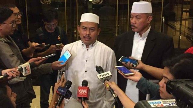 LIPSUS, Tarung Relawan di Medan Pilpres, Ketua Umum Persaudaraan 212, Slamet Maarif