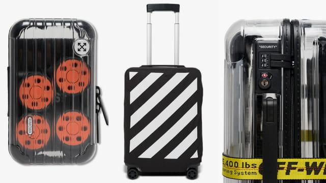 Off-White ™ x Rimowa Transparent Luggage
