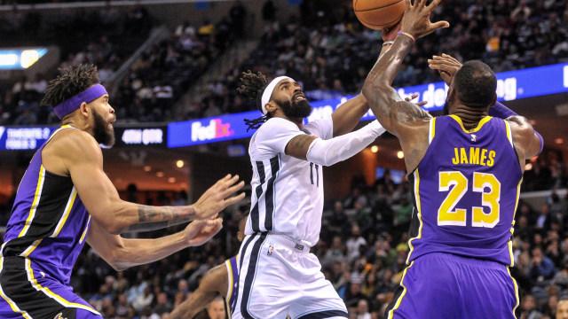 Grizzlies vs Lakers