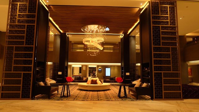 Lobby di Courtyard by Marriott Siem Reap Resort, Kamboja