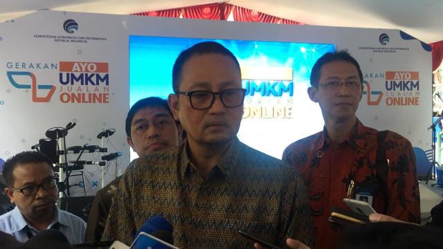 Direktur Jenderal Aplikasi Informatika Kominfo Semuel Abrijani Pangerapan