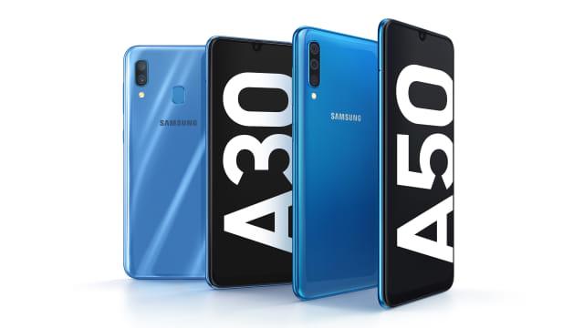 Samsung Galaxy A50 dan Galaxy A30