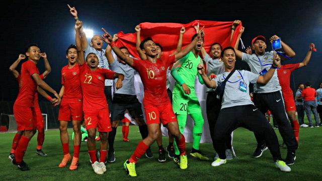 Selebrasi, Timnas U-22, Piala AFF U-22 2019, Kamboja