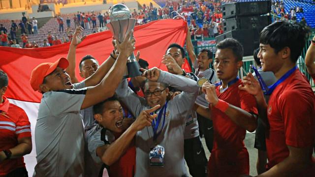 Momen Timnas U-22 Juara: Dari Selebrasi Gol sampai Angkat Piala (193294)