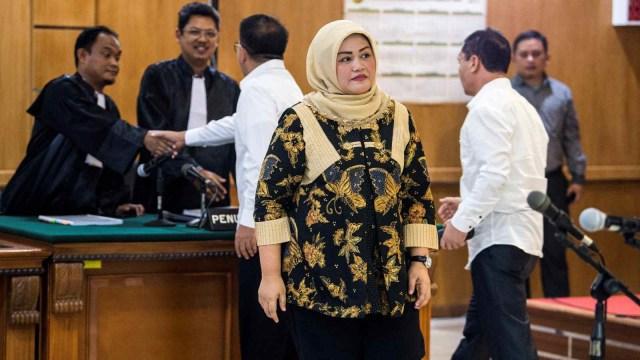 Terdakwa kasus dugaan suap perizinan Meikarta, Neneng Hasanah Yasin, Pengadilan Tipikor, Bandung